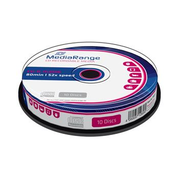 Médium MediaRange CD-R 700MB 52x spindl 10pck/bal